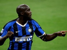 Lukaku évite la défaite à l'Inter contre la Roma. AFP