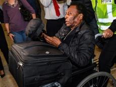 La salud de Pelé preocupa al mundo del fútbol. AFP/Archivo