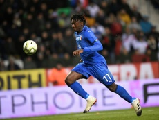 Raiola lamenta no haber sacado a Kean de la Juventus. AFP