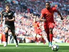 Daniel Sturridge está a un paso de abandonar el Liverpool. AFP/Archivo