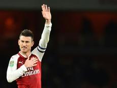 Koscielny slammed Arsenal's performance as 'not enough'. AFP