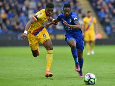 El Crystal Palace recibirá al Leicester para alejarse definitivamente del pozo. AFP