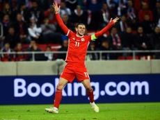 Bale voltou a comparar Gales-Real. AFP