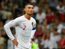 Ronaldo is on a break. AFP