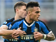 El Inter blinda a Lautaro. AFP
