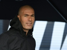 Zinedine Zidane left Real Madrid after winning a third successive Champions League title. AFP