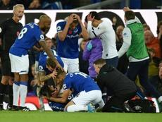 André Gomes revient sur sa grave blessure. afp