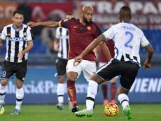 Maicon podría regresar al fútbol italiano. AFP