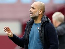 El peor arranque de Guardiola como entrenador. AFP