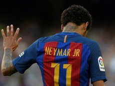 Neymar has reportedly been thinking of coming back to Barça. AFP