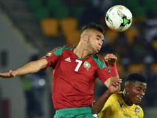 A Seleção Marroquina é uma das que estará na Copa do Mundo de 2018. AFP