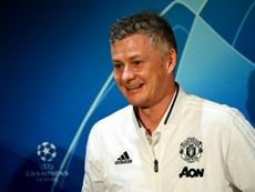 Giggs aime beaucoup le nouvel entraineur. AFP
