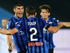 L'Inter Milan veut chiper une pépite de l'Atalanta. afp