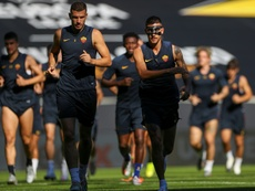 Lorenzo Pellegrini es vital en el once de la Roma. AFP
