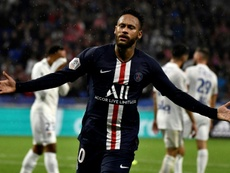 Neymar anotó el único tanto del encuentro en el 87'. AFP