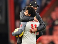 Cook defended Salah's form this season. AFP