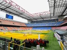 Inter y Milan construirán un nuevo San Siro. AFP