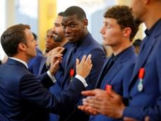 Le Graët defendió a Pogba tras su polémica con la Selección. AFP