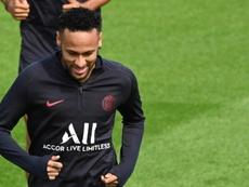 Neymar puso una llamativa condición. AFP