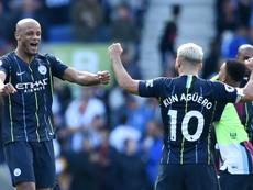 Les clés du titre de Manchester City. AFP
