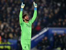 Alisson resume o poder do Liverpool. AFP