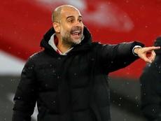 City enfrentará o Aston Villa com desfalques. AFP