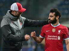 Klopp confirme la présence de Salah face à l'Atalanta. afp