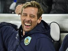Crouch bromeó con José Mourinho en las redes sociales. AFP