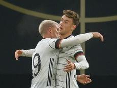 Alemania ganó a pesar de no salir con su equipo titular. AFP