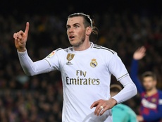 Bale doesn't like getting whistled at. AFP