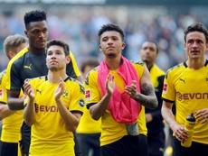 En el Borussia Dortmund anotan el nombre de Kaastrup, extremo danés de 18 años. AFP