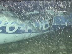Los restos del avión en el que se estrelló Sala ya no están donde estaban. AFP/Archivo