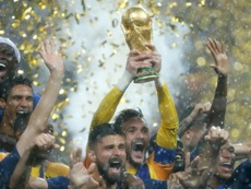 France won the World Cup a year ago today. AFP