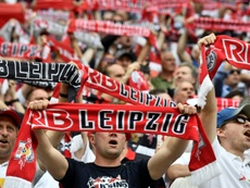 El RB Leipzig tiene grandes aspiraciones en la máxima competición europea. AFP