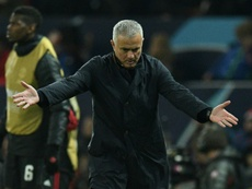 Mourinho will face no further action for his antics. AFP