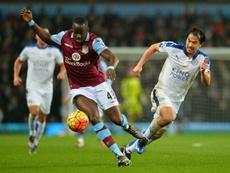 Cissokho no seguirá en el Aston Villa este curso. AFP