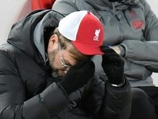 Jurgen Klopp's Liverpool have not won for five consecutive Premier League games. AFP