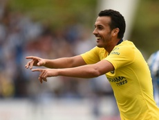 Pedro Rodriguez has once again professed his love for FC Barcelona. AFP