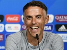 Neville podría partir a EEUU. AFP