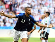 United are said to have seen an offer for Mbappe turned down. AFP