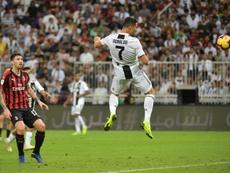 Cristiano à la conquête de l'Italie. AFP