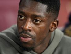 Dembélé estará dos partidos sin jugar. AFP
