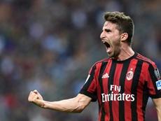 Fabio Borini apenas está teniendo minutos esta temporada. AFP/Archivo