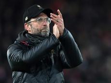 Jurgen Klopp lauded Leicesters great form. AFP