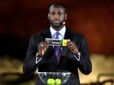Yaya Touré alegó problemas personales para no fichar por Botafogo. AFP