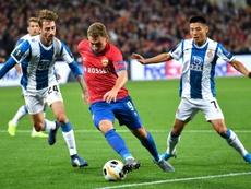 Espanyol y CSKA se ven las caras. AFP