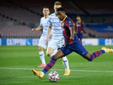 Will Barca renew Fati? AFP