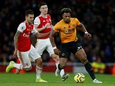 Nuno espère pouvoir compter sur Traoré face à Leicester. afp