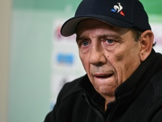 Veteran coach Jean-Louis Gasset resigned from his position as Saint-Etienne boss on Tuesday. AFP