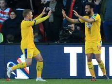 El Crystal Palace le dijo que no el Trabzonspor. AFP